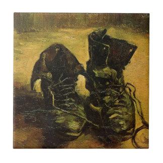 Vincent Van Gogh Shoes Tiles