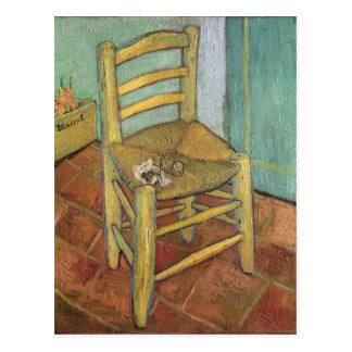 Vincent van Gogh silla del | Vincent, 1888 Tarjetas Postales