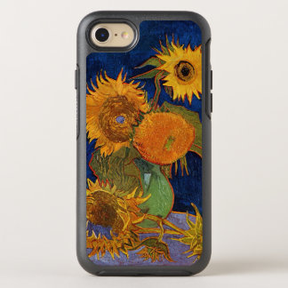 Vincent van Gogh Six Sunflowers GalleryHD Fine Art OtterBox Symmetry iPhone 7 Case