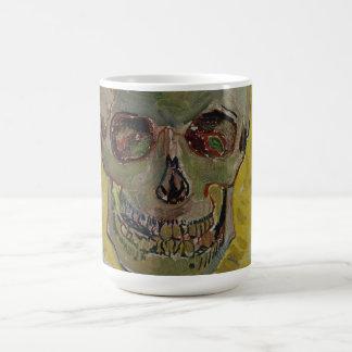Vincent van Gogh Skull GalleryHD Fine Art Coffee Mug