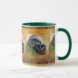 Vincent Van Gogh - Skull In Profile - Fine Art Mug