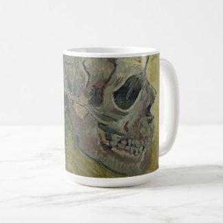 Vincent van Gogh Skull Profile GalleryHD Fine Art Coffee Mug