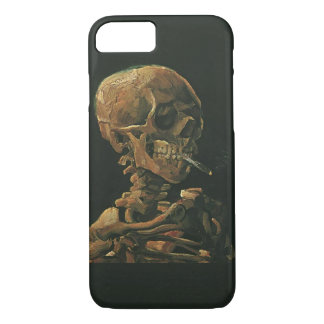 Vincent van Gogh Skull Smoking Cigarette iPhone 8/7 Case