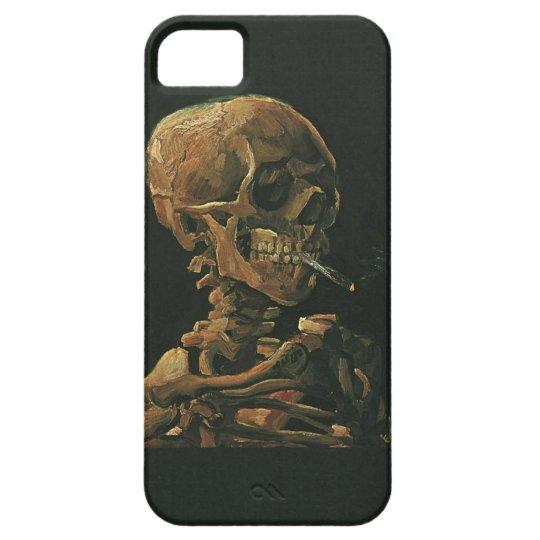 Vincent van Gogh Skull Smoking Cigarette iPhone SE/5/5s Case