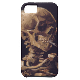 Vincent Van Gogh Skull with a Burning Cigarette iPhone SE/5/5s Case