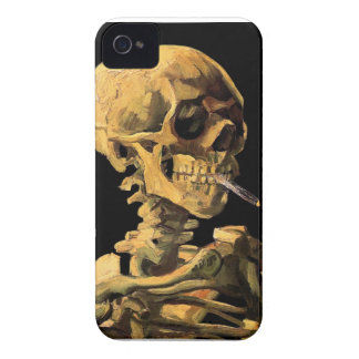 Vincent Van Gogh - Skull With Burning Cigarette Case-Mate iPhone 4 Case