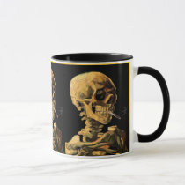 Vincent Van Gogh - Skull With Burning Cigarette Mug