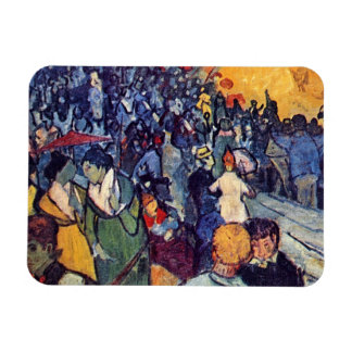 Vincent Van Gogh - Spectators In The Arena Magnet