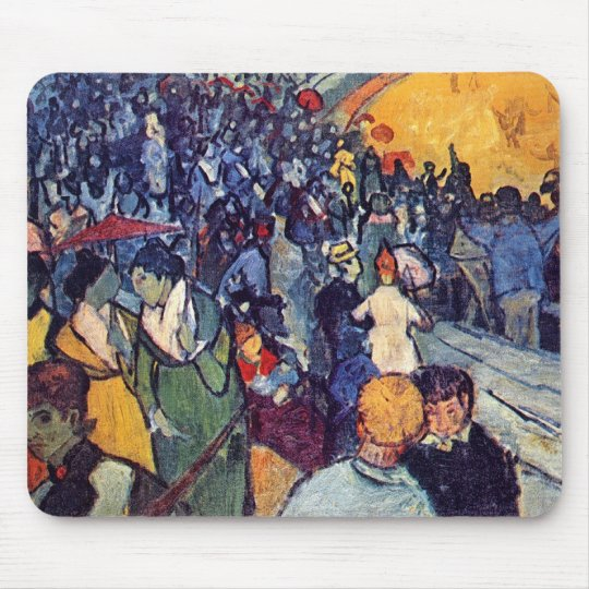 Vincent Van Gogh - Spectators In The Arena Mouse Pad