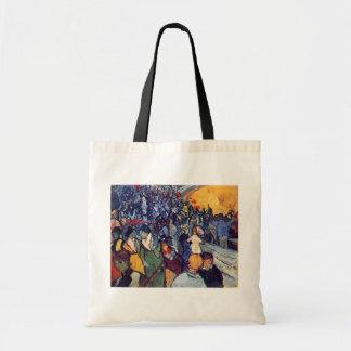 Vincent Van Gogh - Spectators In The Arena Tote Bag