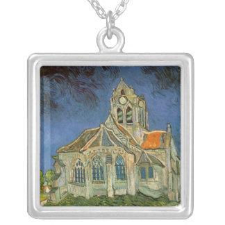 Vincent van Gogh Square Pendant Necklace
