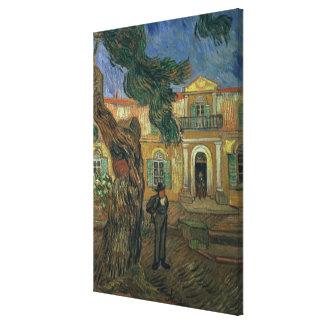 Vincent van Gogh   St. Paul's Hospital, St Remy Canvas Print