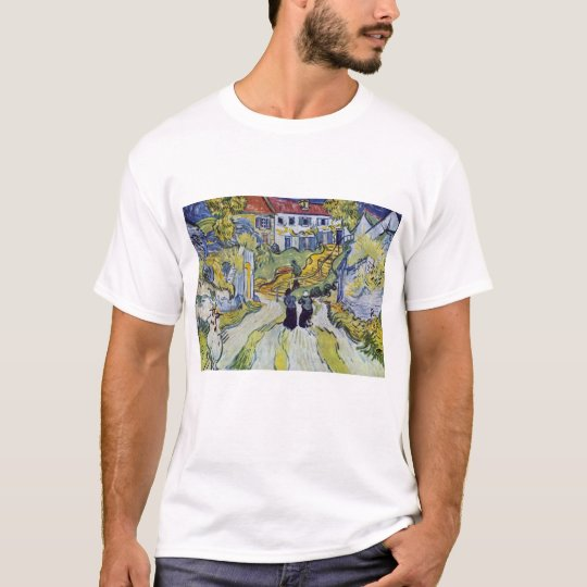 Vincent van Gogh - Stairway at Auvers T-Shirt