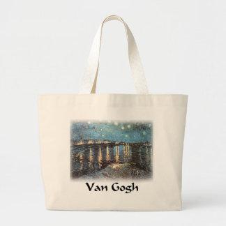 Vincent Van Gogh - Starlight Over the Rhone Bag