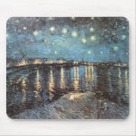 Vincent Van Gogh - Starlight Over the Rhone Mouse Pads