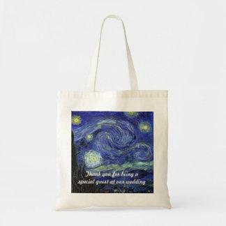 Vincent van Gogh, Starry Night Canvas Bag