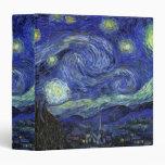 Vincent van Gogh, Starry Night Binder