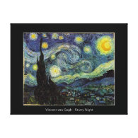 Vincent van Gogh, Starry Night Stretched Canvas Prints