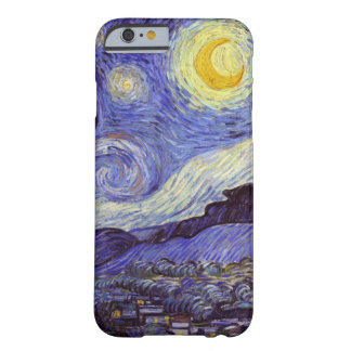 Vincent Van Gogh Starry Night Barely There iPhone 6 Case