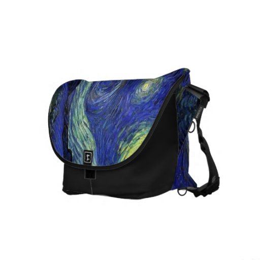 Vincent van Gogh, Starry Night Commuter Bags