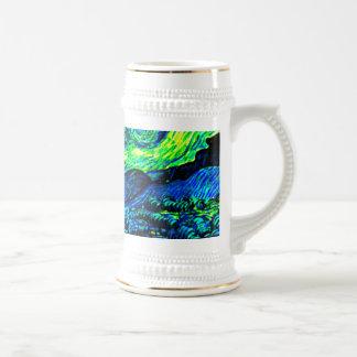 Vincent Van Gogh Starry Night Enhanced Coffee Mugs