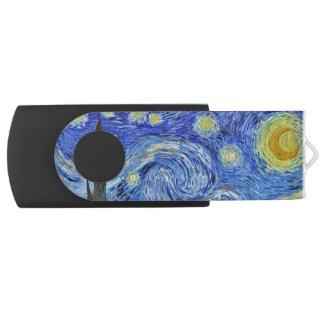 Vincent van Gogh Starry Night GalleryHD Fine Art USB Flash Drive