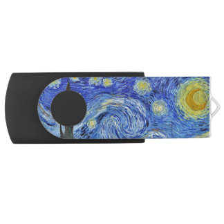 Vincent van Gogh Starry Night GalleryHD USB Flash Drive