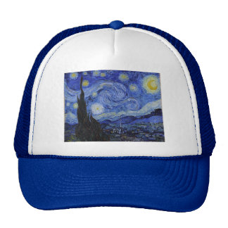 "Vincent Van Gogh ""Starry Night"" Hat"