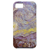 Vincent Van Gogh Starry Night iPhone SE/5/5s Case