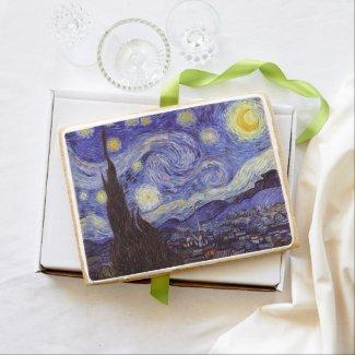 Vincent Van Gogh Starry Night Jumbo Cookie
