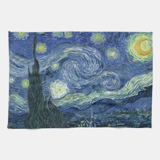 Vincent Van Gogh Starry Night Kitchen Towel