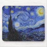 "Vincent Van Gogh ""Starry Night"" Mousepad"