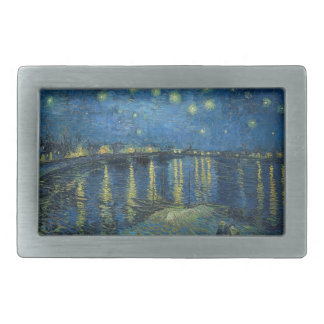 Vincent Van Gogh Starry Night Over the Rhone Belt Buckle