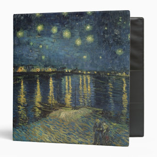 Vincent van Gogh   Starry Night Over the Rhone Binder