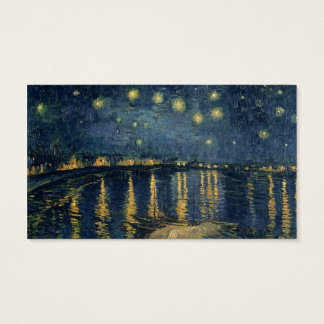Vincent van Gogh | Starry Night Over the Rhone Business Card