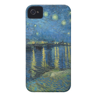 Vincent Van Gogh Starry Night Over the Rhone iPhone 4 Cover