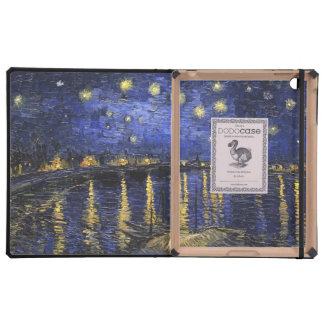 Vincent Van Gogh Starry Night Over The Rhone iPad Cases