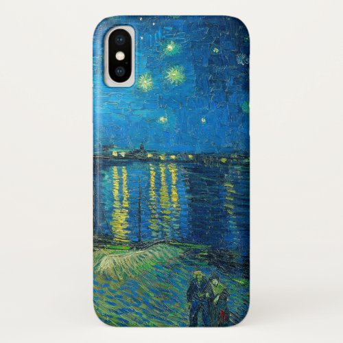 Vincent Van Gogh Starry Night Over The Rhone Phone Case