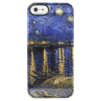 Vincent Van Gogh Starry Night Over The Rhone Clear iPhone SE/5/5s Case