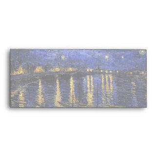 Vincent Van Gogh Starry Night Over The Rhone Envelopes