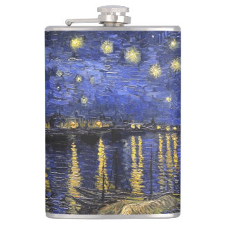 Vincent Van Gogh Starry Night Over The Rhone Flask
