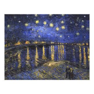 Vincent Van Gogh Starry Night Over The Rhone Flyer