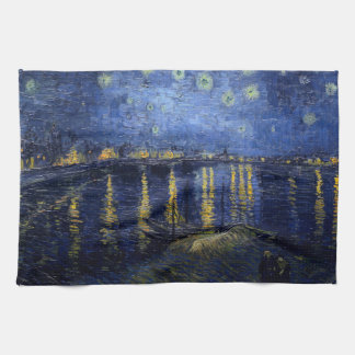 Vincent Van Gogh Starry Night Over the Rhone Gifts Towel