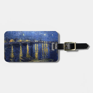 Vincent Van Gogh Starry Night Over the Rhone Gifts Luggage Tag