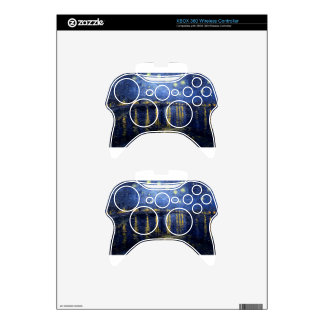 Vincent Van Gogh Starry Night Over the Rhone Gifts Xbox 360 Controller Decal