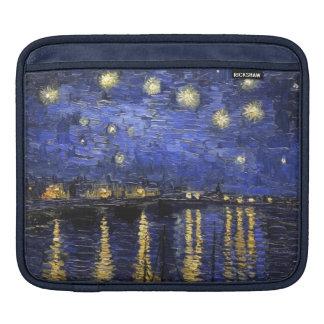 Vincent Van Gogh Starry Night Over The Rhone iPad Sleeves