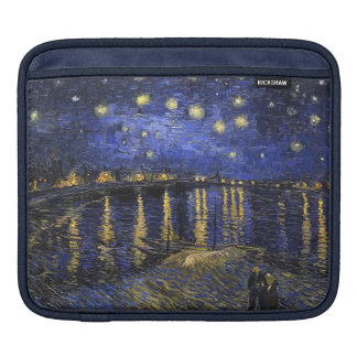 Vincent Van Gogh Starry Night Over The Rhone Sleeve For iPads