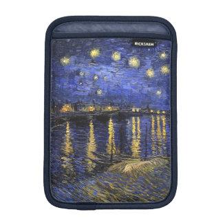 Vincent Van Gogh Starry Night Over The Rhone iPad Mini Sleeve