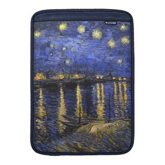 Vincent Van Gogh Starry Night Over The Rhone MacBook Sleeve