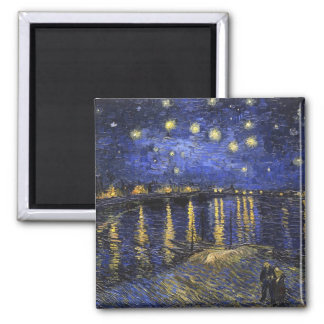Vincent Van Gogh Starry Night Over The Rhone Magnet